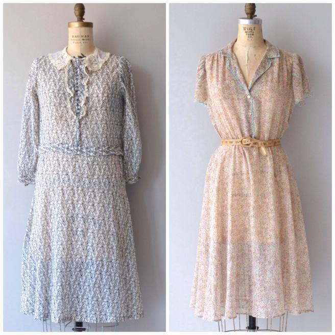 Larkspur Vintage Birthday | Vintage Dress