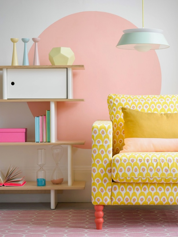GOODHOMES PASTEL CHAIR