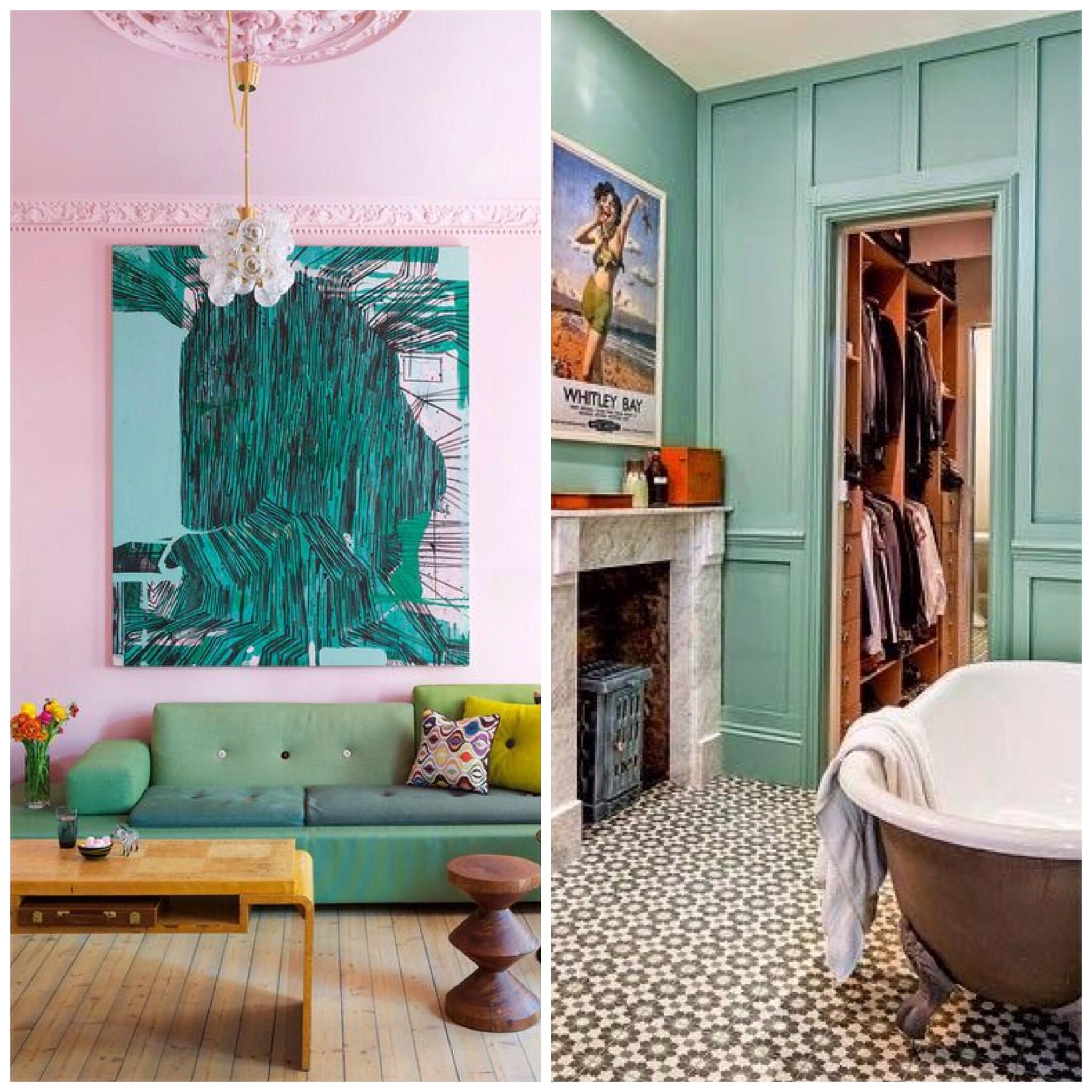 Inspiring Interiors / Pastels – okay andie
