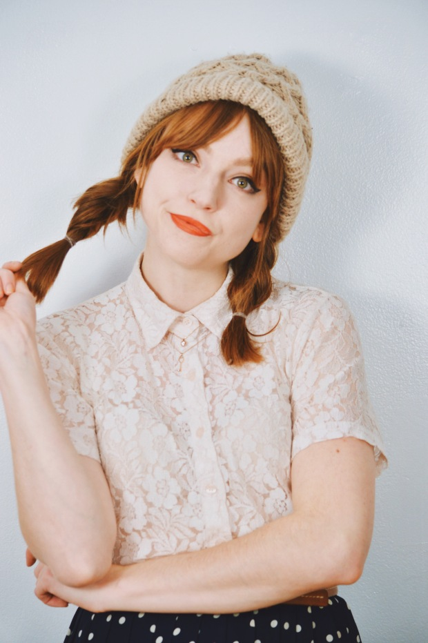 Larkspur Vintage | Beauty: Three Easy Hat Hairstyles