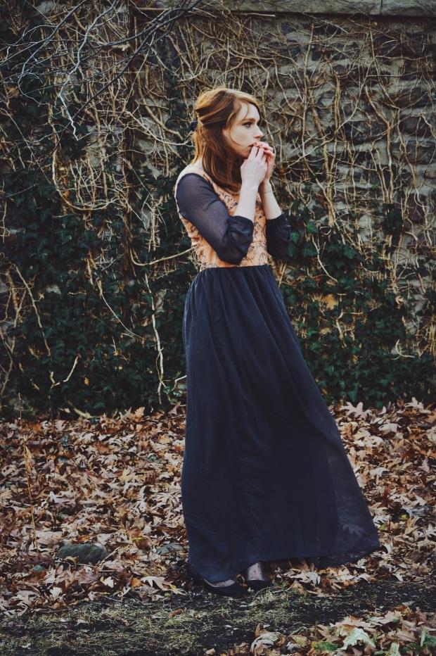 Larkspur Vintage | Outfit: Mucha Feelings
