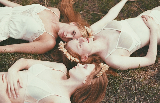 Larkspur Vintage | My Styling: The Beaumont Sisters shot by Gerald Larocque