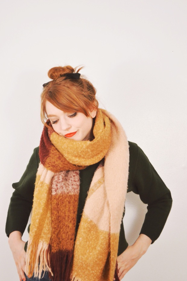 Larkspur Vintage | One Scarf Five Ways