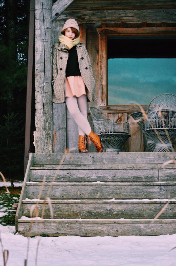 Larkspur Vintage | Outfit: Cabin Fever