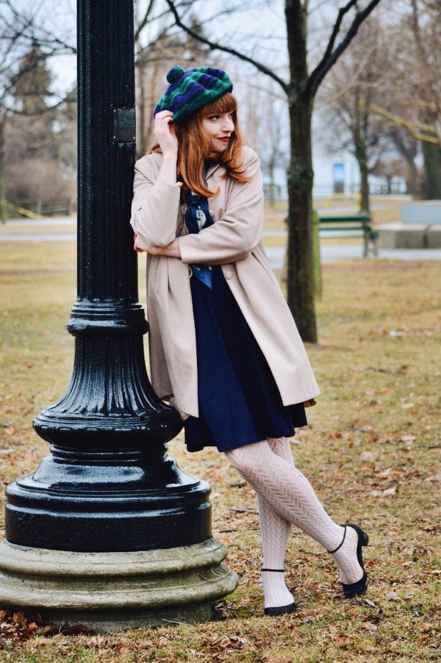 Larkspur Vintage | Outfit: Baby It's Cold Outside