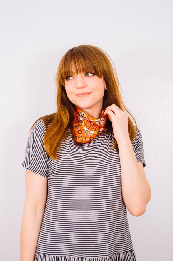 Larkspur Vintage | Ways To Wear: One Kerchief Four Ways