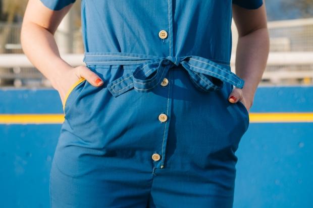 Larkspur Vintage | Blue Jumpsuit Apparatus