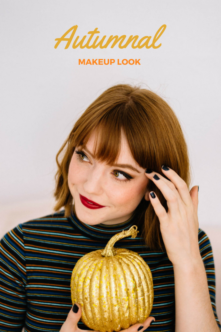 Larkspur Vintage | Autumnal Makeup Look